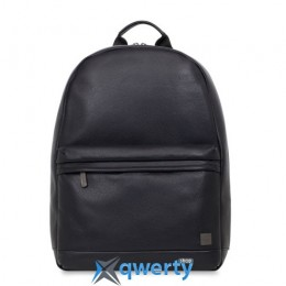 Knomo Albion Leather Laptop Backpack 15 Black (KN-45-401-BDD)