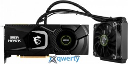 MSI PCI-Ex GeForce RTX 2080 Ti Sea Hawk X 11GB GDDR6 (352bit) (1350/14000) (USB Type-C, HDMI, 3 x DisplayPort) (GeForce RTX 2080 Ti Sea Hawk X 11G)