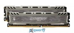 Crucial Ballistix Sport LT Gray DDR4 8GB (2x4) 2400MHz (BLS2K4G4D240FSB)
