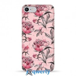 Pump Plastic Fantastic Case for iPhone 8/7 Pink Pionies (PMPF8/7-7/50)