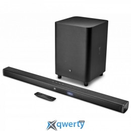 JBL Bar3.1 Channel 4K Ultra HD Soundbar with Wireless Subwoofer Black (JBLBAR31BLK)