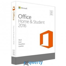 Microsoft Office Mac Home Student 2016 English (GZA-00997)