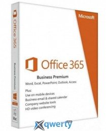 Microsoft Office365 Business Premium 1 User 1 Year Subscription English Medialess (KLQ-00425)