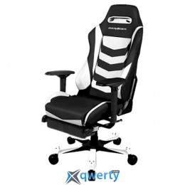 DXRacer Iron OH/IA166/NW (Black / White)