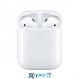 Беспроводные наушники Apple AirPods 2 with Charging Case  (MV7N2)