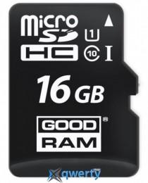 MicroSDHC 16GB UHS-I Class 10 GOODRAM (M1A0-0160R12)