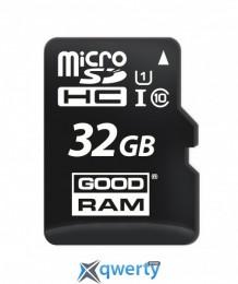 MicroSDHC 32GB UHS-I Class 10 GOODRAM (M1A0-0320R12)