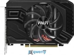 Palit PCI-Ex GeForce GTX 1660 Ti StormX OC 6GB GDDR6 (192bit) (1815/12000) (1 x DVI, 1 x HDMI 2.0, 1 x DisplayPort v.1.4) (NE6166TS18J9-161F)