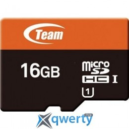 TEAM 16 GB microSDHC UHS-I + SD Adapter (TUSDH16GUHS03)