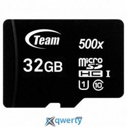 TEAM 32 GB microSDHC UHS-I (TUSDH32GCL10U02)