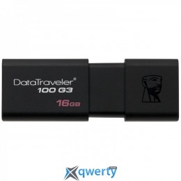 USB Kingston DT100 G3 256GB DT100G3/256GB Black