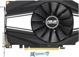 Asus PCI-Ex GeForce GTX 1660 Phoenix O6G OC 6GB GDDR5 (192bit) (1530/8002) (DVI, HDMI, DisplayPort) (PH-GTX1660-O6G)