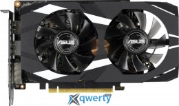 Asus PCI-Ex GeForce GTX 1660 Ti Dual 6GB GDDR6 (192bit) (1770/12002) (DisplayPort, HDMI 2.0b, DVI-D) (DUAL-GTX1660TI-6G)