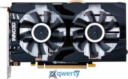 INNO3D PCI-Ex GeForce GTX 1660 Twin X2 6GB GDDR5 (192bit) (1785/8000) (HDMI, 3x DisplayPort) (N16602-06D5-1510VA15)