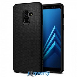 Spigen Galaxy A8 (2018) Case Liquid Air Matte Black (590CS22747)