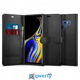 Spigen Galaxy Note 9 Case Wallet S Black (599CS24579) купить в Одессе