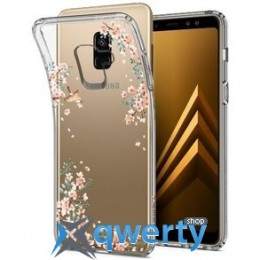Spigen для Galaxy A8 (2018) Liquid Crystal Blossom Nature (590CS22750)