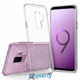Spigen для Galaxy S9+ Liquid Crystal Glitter Crystal Quartz (593CS22918)