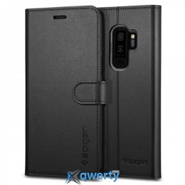 Spigen для Galaxy S9+ Wallet S Black (593CS22957)