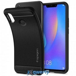 Spigen для HUAWEI nova 3i/P smart+ Rugged Armor Black (L32CS24984)