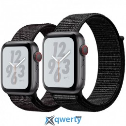 Apple Watch Nike+ Series 4 GPS + LTE (MTXD2/MTXL2) 44mm Space Gray Aluminum Case with Black Nike Sport Loop