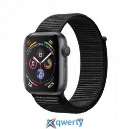 Apple Watch Nike+ Series 4 GPS + LTE (MTXH2/MTX82) 40mm Space Gray Aluminum Case with Black Nike Sport Loop