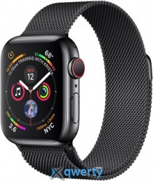 Apple Watch Series 4 GPS + LTE (MTUM2/MTUQ2) 40mm Space Black Stainless Steel Case with Space Black Milanese Loop
