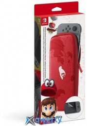 Nintendo Switch Carriyng Case (Super Mario Odyssey) Screen Protector