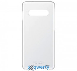 Samsung Clear Cover для смартфона Galaxy S10+ (G975) Transparent (EF-QG975CTEGRU)