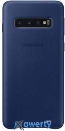 Samsung Leather Cover для смартфона Galaxy S10+ (G975) Navy (EF-VG975LNEGRU)