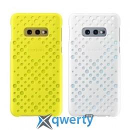 Samsung Pattern Cover для смартфона Galaxy S10e (G970) White amp;Yellow (EF-XG970CWEGRU)