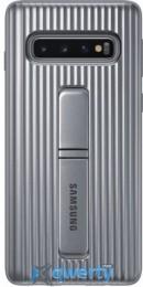 Samsung Protective Standing Cover для смартфона Galaxy S10+ (G975) Silver (EF-RG975CSEGRU)