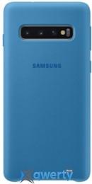 Samsung Silicone Cover для смартфона Galaxy S10 (G973) Blue (EF-PG973TLEGRU)