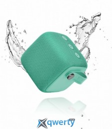 Fresh N Rebel Rockbox Bold S Waterproof Bluetooth Speaker Peppermint (1RB6000PT)