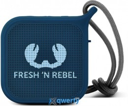 Fresh N Rebel Rockbox Pebble Small Bluetooth Speaker Indigo (1RB0500IN)