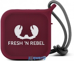 Fresh N Rebel Rockbox Pebble Small Bluetooth Speaker Ruby (1RB0500RU)