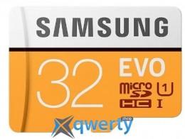 Samsung 32GB microSDHC C10 UHS-I R95MB/s Evo + SD адаптер (MB-MP32GA/APC)