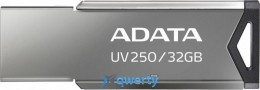 ADATA 32GB USB 2.0 UV250 Metal Black (AUV250-32G-RBK)