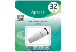 Apacer 32GB USB 2.0 AH310 Silver (AP32GAH310S-1)