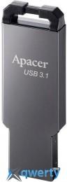 Apacer 64GB USB 3.1 AH360 Metal Black (AP64GAH360A-1)