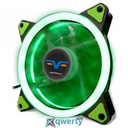 Frime Iris LED Fan Double Ring Green (FLF-HB120GDR)