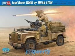 HobbyBoss Land Rover WMIK w/ MILAN ATGM (HB82447)
