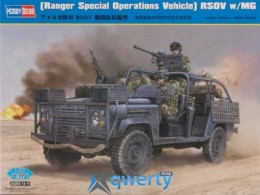 HobbyBoss (Ranger Special Operations Vehicle) RSOV w/MG (HB82450)