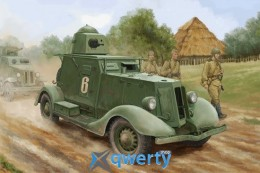 HobbyBoss Soviet BA-20 Armored Car Mod.1937 (HB83882)