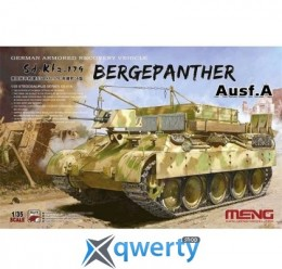 Meng German Armored Recovery Vehicle Sd.Kfz.179 Bergepanther Ausf.A (SS-015)