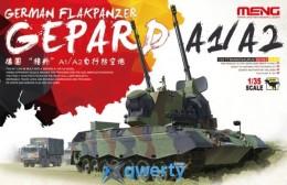 Meng GERMAN FLAKPANZER GEPARD A1/A2 (TS-030)