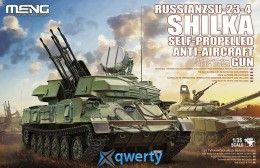 Meng RUSSIAN ZSU-23-4 SHILKA SELF-PROPELLED ANTI-AIRCRAFT GUN (TS-023)