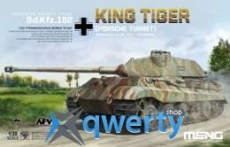 Meng Sd.Kfz.182 Kingtiger (Porsche Turret) (TS-037)