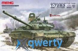 Meng T-72B3 Russian Main Battle Tank (TS-028)