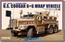 Meng U.S. COUGAR 6x6 MRAP VEHICLE (SS-005)